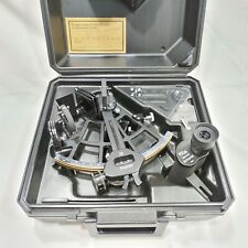 Tamaya Marine Micrometer Sextant Type MS-3L with Carry Case. Made in Japan