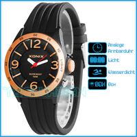 XONIX W94H6J2/4 Damen Sportlich Armbanduhr 100m BOX Top Qualität
