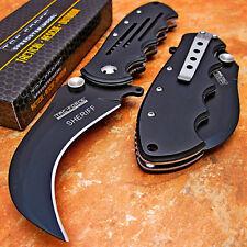 TAC-FORCE FAST Spring Assisted Open HAWKBILL KARAMBIT Blade Folding Pocket Knife