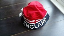 ENGLAND WORLD CUP SUNHAT. SUPPORT ENGLAND - WORLD CUP 2018(BLUE,RED,WHITE)