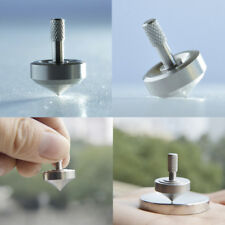 Super Precision Spinning Top Professional Silver Stainless Steel Spinning Tops