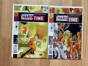 Hard Time 1 and 2 (2 Books) High Grade Comic Book B77-139