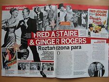FRED ASTAIRE & GINGER ROGERS in. Magazine KROPKA TV 18/2017 ZENON MARTYNIUK