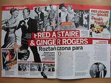FRED ASTAIRE & GINGER ROGERS in. Magazine KROPKA TV 18/2017 ZENON MARTYNIUK