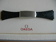 NOS Omega Shark Skin 20mm Deployment Strap & Type 27 Clasp - VERY RARE!!