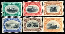 1901 US Stamps #294-299 Pan-American Exposition Issue Set CV:$382