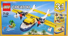 LEGO Creator 31064 Wasserflugzeug Abenteuer 3in1 Schnellboot Inselhütte NEU NEW
