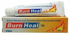 Silver Nitrate and chlorhexidine Gluconate Cream Burn Heal 15 gm