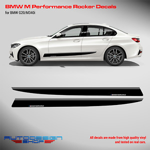 M Performance Side skirt decals Set for BMW G20 / M340i