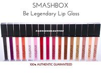 SMASHBOX Be Legendary Lip Gloss FULL SZ! Discontinued Shades BNIB ☆ Choose Color