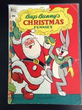 Bugs Bunny's Christmas Funnies #1 VG 1950 Dell Giant