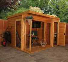 Mercia 10x8 Garden Room With Side Shed