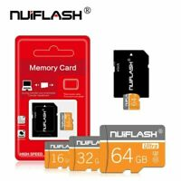 8GB 16GB 32GB 128GB MicroSD TF-Memory Cards High Speed Class10 SD-Card & Adapter