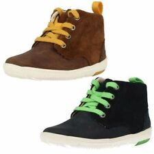 Chaussures à zip en cuir pour garçon de 2 à 16 ans