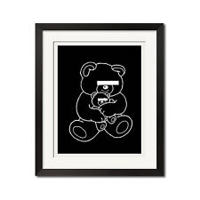 UNDERCOVER Witch's Cell Division Bear Undercoverism Street Punk Poster Print