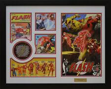 Flash DC Comics Limited Edition Framed Memorabilia (w)