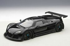 AUTOart 1/18: 71301 Gumpert Apollo S (2005), schwarz, Supersportwagen