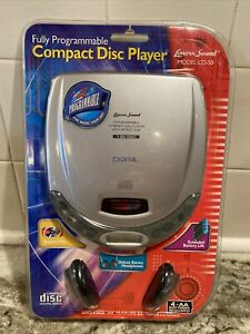 NEW & SEALED CD-50 Personal CD Player Fully Programmable w/ Repeat & Headphones