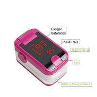 Finger Pulse Oximeter Blood Oxygen SpO2 PR Respiratory Rate Monitor FDA + Manual