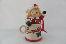 """Peek-A-Boo"" Danbury Mint Campbell'S Soup Kids Ornament - Mwt"