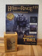 Herr der Ringe-Figur : Kampf-Troll in Minas Tirith (Nr.115) in OVP+Heft