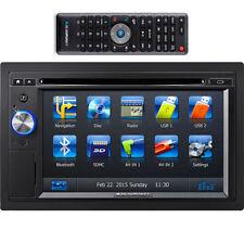 2 DIN Car Audio In-Dash Units with Remote Control