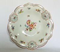 "Vintage PT Tirschenreuth 1 Bavaria Hand Painted Floral Design Plate 8 ¾"" D x 2""H"