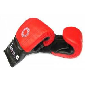 Splay Boxercise Gloves Red boxing sparring thai mitts pu kickboxing punch