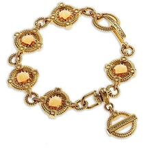 New Rebecca 1.16ctw Hydro Citrine Ring Signature Bracelet