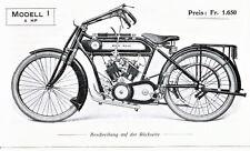 Moto Reve - Motorrad-Programm -  Prospekt  - 1914 - Deutsch -  nl-Versandhandel