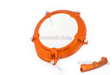 EVOTECH CUBIERTA SUMP EMBRAGUE NARANJA CLUTCH COVER KTM 1190 ADVENTURE R