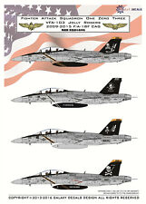GALAXY Model G48002 1/48 US Navy F/A-18F VFA-103 Jolly Rogers Decal 2009-2015