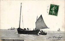 CPA BERCK PLAGE Barque de pécheur (414142)