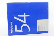Polaroid 54 BW instant sheet film. Expired jan 2007, 20 photos, ISO 100
