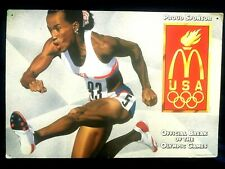 Proud Sponsor Usa Official Break Of The Olympic Games, Cardboaard Poster