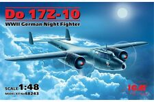 ICM 48243 1/48 Do 17Z-10 WWII German Night Fighter