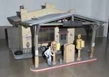 POLA G 1735 GARAGE SHELL TRAIN LGB MARKLIN STATION SERVICE TANKSTELLE JOUET