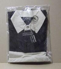 "Camiseta Polo promo ""Ron Brugal extra viejo"" talla XL.Wengue/ Crema."