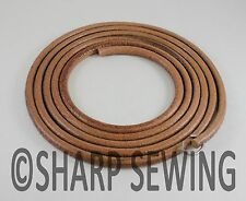 "72"" Leather Belt Singer Treadle Sewing Machine - 1/4"" (6mm) Round B109"