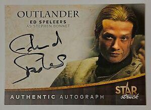 2020 Outlander Season 4 STAR STRUCK Autograph ED SPELEERS STEPHEN BONNET Auto