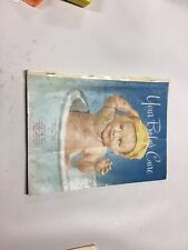 Your Baby's Care Hospital Book Records Development Journal 1953 Antique Rare