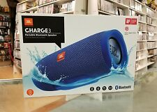 JBL Charge 3 Portable Bluetooth Speaker Waterproof Blue, AUTHENTIC !!! NEW !