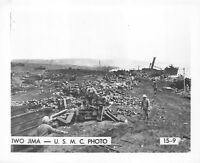 (044) Vintage USMC Photo Iwo Jima Operation