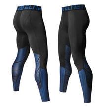 Men Compression Base Layer Leggings Pants Fitness Gym Workout Sport Wear Trouser