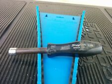 Al472 Snap On 716 Nut Driver 6 Point Hard Brown Handle Ndd114