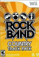 Rock Band: Country Track Pack - Nintendo  Wii Game