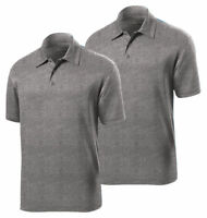 Sport Tek Men's Lightweight Breathable Short Sleeve Polo T-Shirt, Pack2. ST660