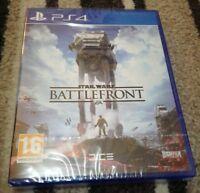 Sealed Playstation 4 Star Wars Battlefront (PS4) Brand new