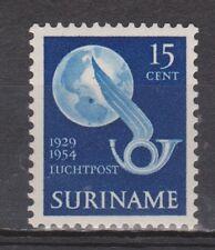 Luchtpost LP 32 MNH PF Suriname 1954 Herdenkingszegel airmail