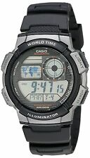 CASIO AE-1000W-1BVSDF BLACK WATCH FOR MEN - COD + FREE SHIPPING